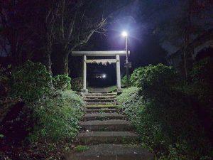 わたしの神社(夜)