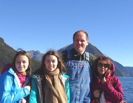 ニュージーランド家族旅行