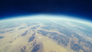 大気圏からみる地球